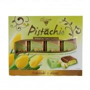 Chocolate Premium Com Pistache - Importado Da Polônia - 400g