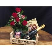 cesta rosas e champanhe 01
