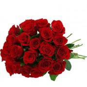 Buquê com 20 rosas importadas para presente