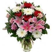 Buquê com flores nobres
